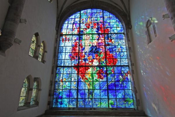 Marc Chagall's Remarkable Stained-Glass Window