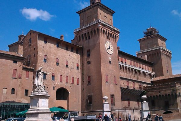 Step off your Italian River Cruise and enjoy the Estense Castle in Ferrara