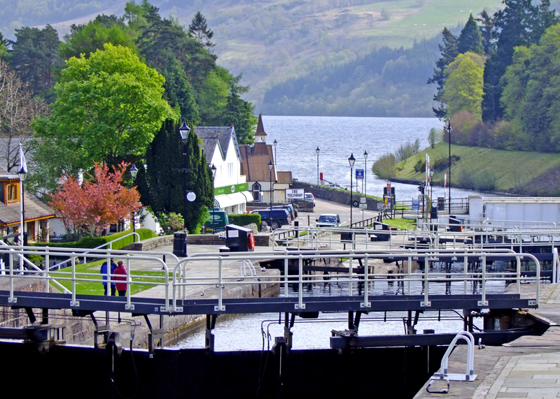 Fort Augustus Lock Flight