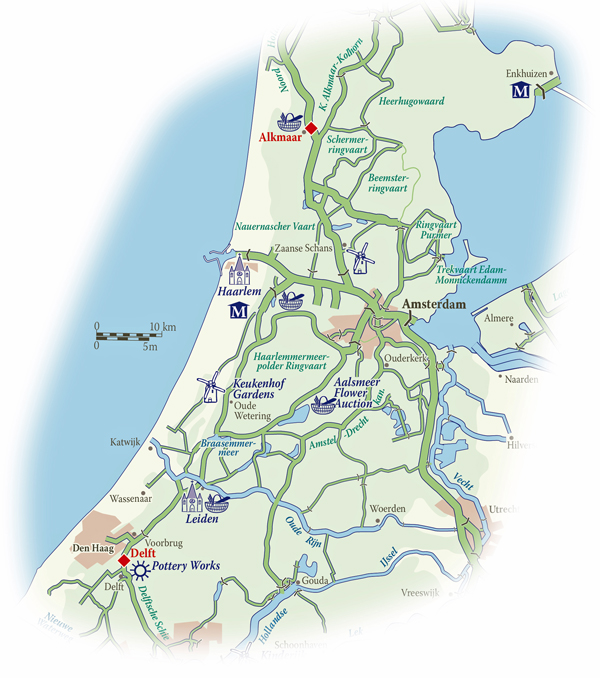 Holland Map