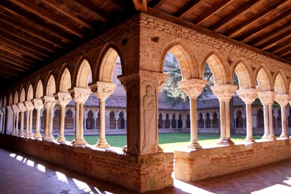 Moissac UNESCO-classified abbey