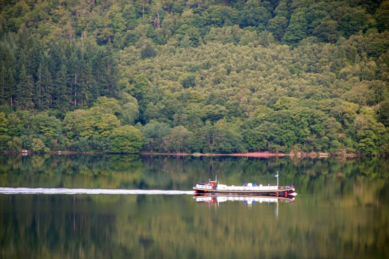 scottish cruise across loch ness