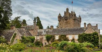 Flower Garden, Cawdor Castle, Scotland, August 2014